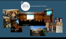 A collage of photos from the Periodontal Update event