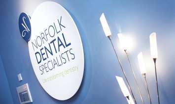 Norfolk Dental Specialists wall art