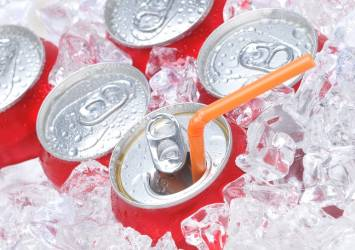 fizz free february soda cans